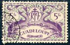 STAMP TIMBRE COLONIES FRANCAISES / GUADELOUPE OBLITERE N° 193 SERIE DE LONDRES