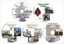 WW2 World War Two Falklands Vietnam Korea Images, Photos, Maps 5 DISKS