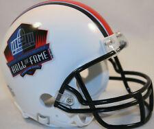 HOF HALL OF FAME LOGO RIDDELL NFL FOOTBALL MINI HELMET NEW IN BOX 55087