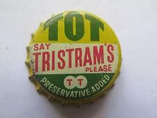 CROWN SEAL BOTTLE CAP TOT SAY TRISTRAMS PLEASE QLD AUSTRALIA USED c1960s
