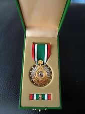 ^(Schr) US Medal Liberation of Kuwait original Orden im Etui Saudi-Arabia