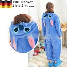 Unisex Adult Pyjamas Disney Stitch Cosplay Tier Onesie Nachtwäsche Nachtwäsche