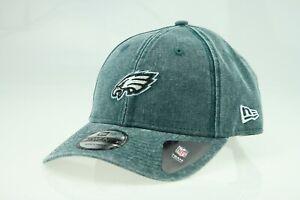 New Era 9Twenty Philadelphia Eagles Cappy Cap NFL Strapback Green OSFA