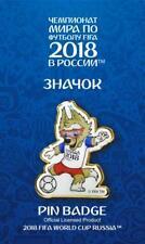 WORLD CUP 2018 MASCOT PIN BADGE RUSSIA FOOTBALL SOCCER ZABIVAKA NEW POSE 3