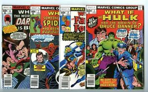 What If (1977 series) #2,6,7,8 Avg VF New Marvel Collection