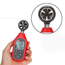 Handheld Digital Anemometer Bluetooth LCD Temperature Wind Speed Measuring Meter