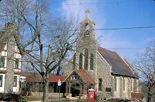 historic structures-Churches-All Saints Episcopal @ Lehighton Pa.Fuji slide