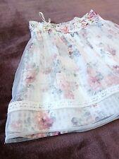 Romantic white Lace-up Skirt shorts LIZ LISA Japan-M Hime Lolita Jfashion Gyaru