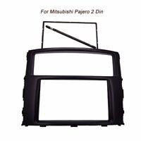 2 Din Car Radio DVD Stereo Fascia Panel Trim Kit for Mitsubishi Pajero/Montero