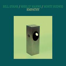 """BILL EVANS - SHELLY MANNE - MONTY BUDWIG - """"EMPATHY""""  140 GR CLEAR VINYL RUSSIA"""