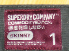 SUPERDRY CHINO JEANS COMMODITY EDITION LARGE SIZE 34 (ORIGINAL)