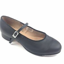 Bloch Techno Tap #2T Womens Size 7.5 Black Leather Tap Mary Jane Dance Shoes
