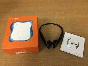 Aftershock titanium black AS600  headphones in orange box