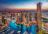 1500 TEILE PUZZLE, Dubai Marina, CLEMENTONI 31814