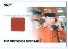 """STROMBERG'S SUBMARINE CREW UNIFORM RELIC CARD #JBR18"" JAMES BOND MISSION LOGS"