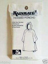 Seattle Mariners Poncho MLB Rainmate II Hooded Raincoat Rainwear
