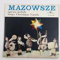 MAZOWSZE śpiewa koledy Sings Christmas Carols Lp Vinyl Record polish