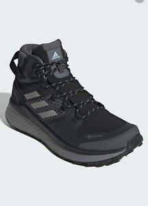 Adidas Terrex Folgian Mid Hiking/Walking Boots UK 8 Lightweight FANTASTIC! Vegan
