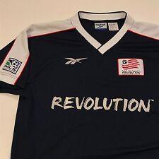 NEW ENGLAND REVOLUTION Jersey Mens Womens Reebok Vintage Soccer MLS Shirt