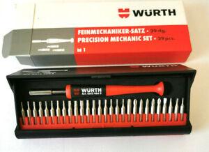 Würth Feinmechaniker Bitsatz Bit Satz Schraubendreher Set Uhrmacher Werkzeug NEU