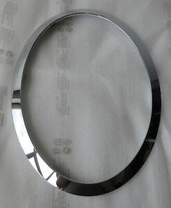 Genuine NEW MINI N/S Passenger Chrome Headlight Trim Ring - F55 F56 F57  7300631