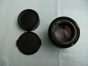 Nikon Ai NIKKOR 50mm f/1,4 Objektiv