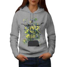 Wellcoda Christ Redeemer Brazil Womens Hoodie, Rio Casual Hooded Sweatshirt