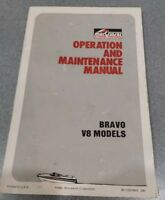 1990 Mercruiser Bravo V8 Models inboard Operation & Maintenance Manual