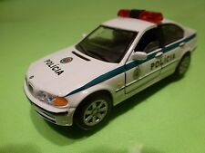 HONGWELL BMW 3 SERIES 328i - E46 - POLICIA POLICE - WHITE 1:43 - GOOD CONDITION