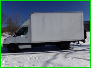 2012 Freightliner Sprinter 3500 14ft Box Truck with Liftgate