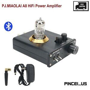 PJ.MIAOLAI A8 Mini HiFi Power Amplifier Tube Amp 3.5AUX Stereo + Bluetooth Input