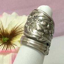 Sterling Silver Garden Spoon Ring,FRANCIS 1,Size 7-12 Custom Silverware Jewelry