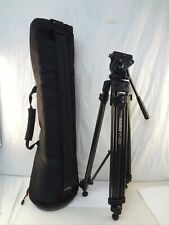 """Magnus Vt-4000 27.6"""" to 59"""" 2-Stage Photography Tripod System with Fluid Head"""