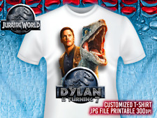 Jurassic World Custom T-shirts Birthday party - Digital file in 4 hours or less