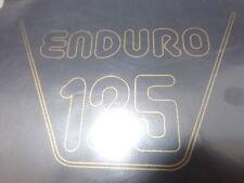 MONTESA COVER MOTO ENDURO 125.