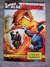 SUPER ALBO MANDRAKE # 102 - 13 SETTEMBRE 1964 - EDIZIONE SPADA - THE MAGICIAN