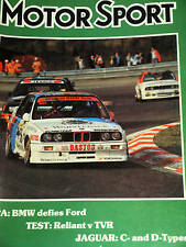 SPA 24 HOURS 1988 BMW M3 HEGER DIETER QUETER RAVAGLIA FORD SIERRA RS COSWORTH