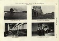 1914 Mississippi Hydroelectric Power Plant Generator Room Disconnecting Switches