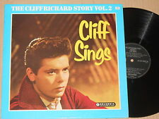 CLIFF RICHARD -Cliff Sings - The Cliff Richard Story Vol. 2- LP