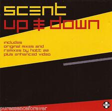 SCENT - Up & Down (UK 6 Track Enhanced CD Single)