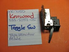 KENWOOD S33-2052-05 TOGGLE SWITCH   TAPE MONITOR   MODE   KR-7050