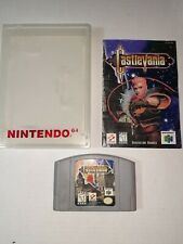 Castlevania 64 With Manual Authentic N64 Cartridge Manual & Retro N64 Game Case