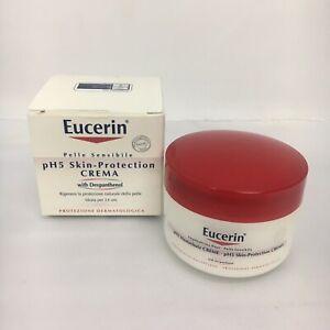 Eucerin : pH5 Skin Protection Cream For Sensitive Body & Facial Skin 75ml / NEW