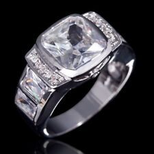 Fashion desaign 10k gold filled white sapphire man ring size 11 ! Gift & Jewelry