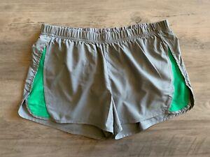 PATAGONIA Women's Girls' Shorts Grey Green Size S