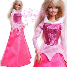 Pink new Barbie EVENING SPLENDOR Dress Grown for Barbie Doll for Xmas Gift
