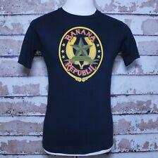 Vintage Nos Banana Republic T Shirt Black sz Medium M