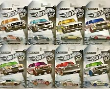 Hot Wheels 2018 50th Anniversary ZAMAC #FRN24 1:64 Scale (Complete Set of 8)