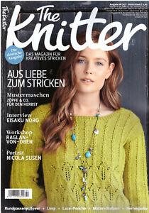 The Knitter 54/2021 Designer Mode Anleitungen Strickanleitungen