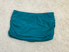 NEW NWOT Magic Suit skirted bottom emerald swim separate 12 L LARGE 302483-082